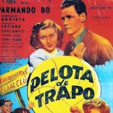 Cine: PELÍCULA DE CINE EN 16MM DRAMA SOBRE EL CÉSPED (PELOTA DE TRAPO) (1948). Lote 112810011