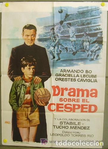 Cine: Película de cine en 16mm DRAMA SOBRE EL CÉSPED (PELOTA DE TRAPO) (1948) - Foto 2 - 112810011