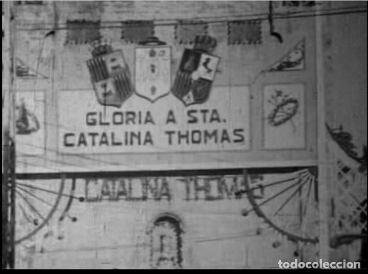 FILMACION HISTORICA EN 9,5MM DE 1930 DE LAS FIESTAS POR LA CANONIZACION DE LA BEATA CATALINA THOMAS (Cine - Películas - 16 mm)