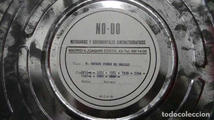 NO - DO,DOCUMENTALES, D. CARLOS PÉREZ BRICIO BLANCO Y NEGRO,COLOR ,MUDO Y SONORO 16 MM (Cine - Películas - 16 mm)