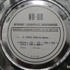 Cine: NO - DO,DOCUMENTALES, D. CARLOS PÉREZ BRICIO BLANCO Y NEGRO,COLOR ,MUDO Y SONORO 16 MM. Lote 118892263