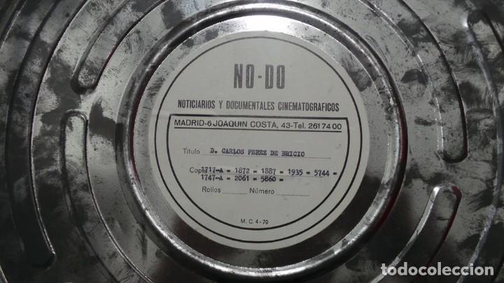Cine: NO - DO,DOCUMENTALES, D. CARLOS PÉREZ BRICIO BLANCO Y NEGRO,COLOR ,MUDO Y SONORO 16 MM - Foto 207 - 118892263