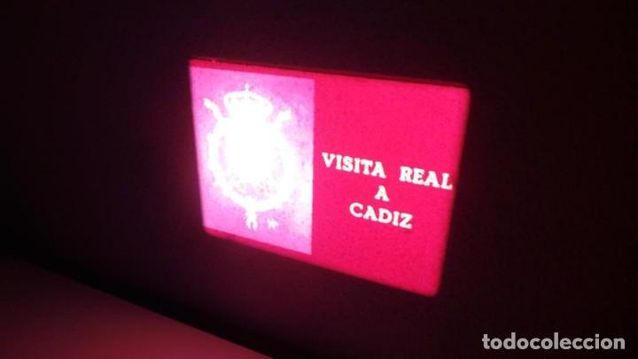 Cine: NO–DO, DOCUMENTALES VISITAS REALES CÁDIZ,HUELVA Y SEVILLA COLOR SONORO 16 MM - Foto 2 - 118893815