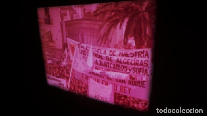 Cine: NO–DO, DOCUMENTALES VISITAS REALES CÁDIZ,HUELVA Y SEVILLA COLOR SONORO 16 MM - Foto 4 - 118893815
