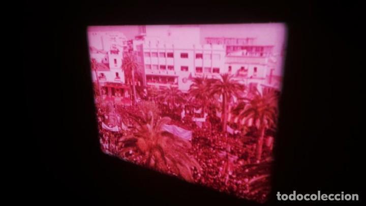Cine: NO–DO, DOCUMENTALES VISITAS REALES CÁDIZ,HUELVA Y SEVILLA COLOR SONORO 16 MM - Foto 5 - 118893815