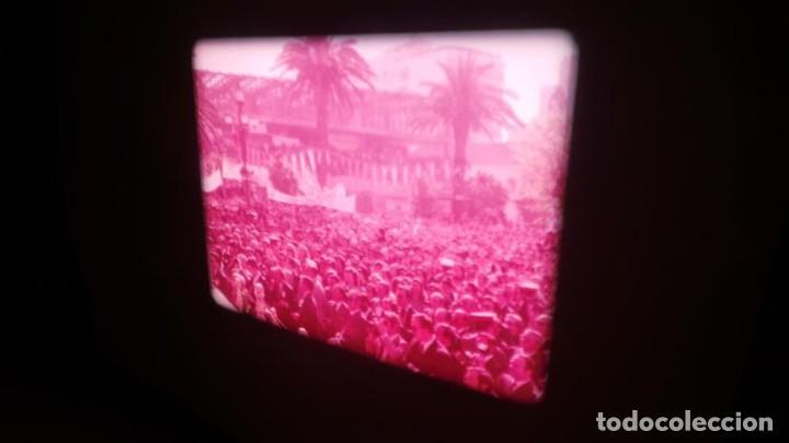 Cine: NO–DO, DOCUMENTALES VISITAS REALES CÁDIZ,HUELVA Y SEVILLA COLOR SONORO 16 MM - Foto 9 - 118893815