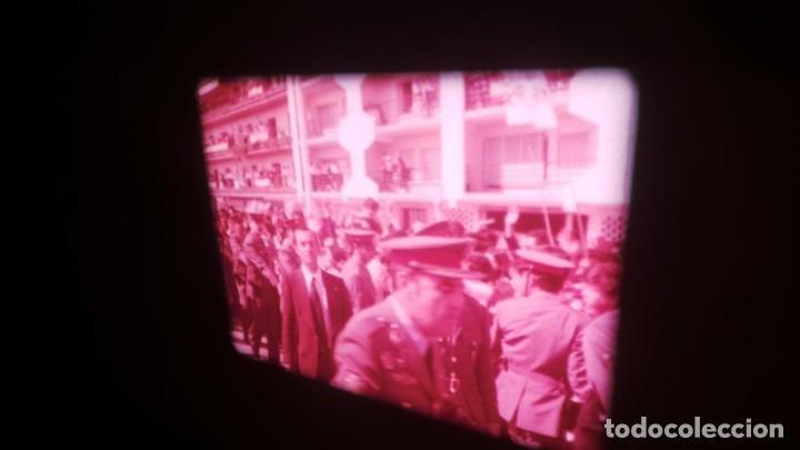 Cine: NO–DO, DOCUMENTALES VISITAS REALES CÁDIZ,HUELVA Y SEVILLA COLOR SONORO 16 MM - Foto 17 - 118893815
