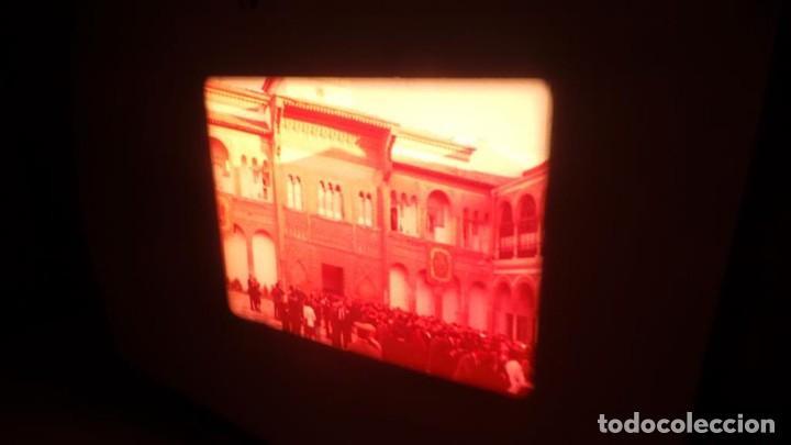 Cine: NO–DO, DOCUMENTALES VISITAS REALES CÁDIZ,HUELVA Y SEVILLA COLOR SONORO 16 MM - Foto 47 - 118893815