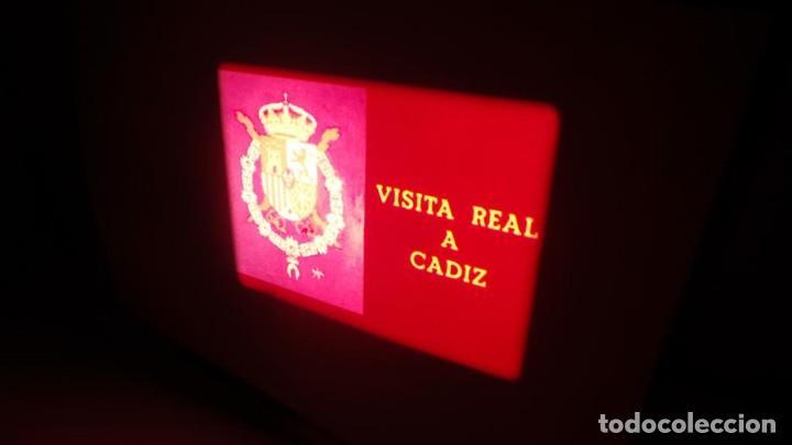 Cine: NO–DO, DOCUMENTALES VISITAS REALES CÁDIZ,HUELVA Y SEVILLA COLOR SONORO 16 MM - Foto 53 - 118893815