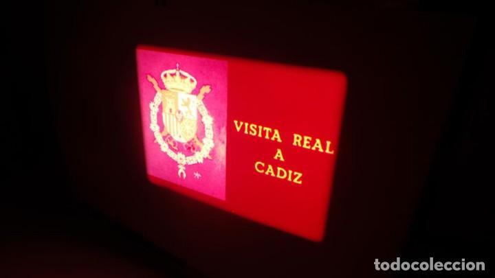 Cine: NO–DO, DOCUMENTALES VISITAS REALES CÁDIZ,HUELVA Y SEVILLA COLOR SONORO 16 MM - Foto 54 - 118893815