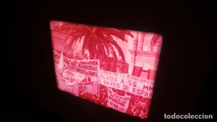 Cine: NO–DO, DOCUMENTALES VISITAS REALES CÁDIZ,HUELVA Y SEVILLA COLOR SONORO 16 MM - Foto 61 - 118893815