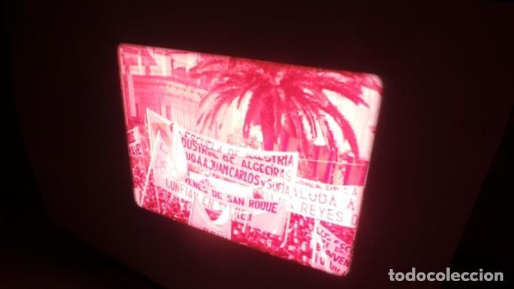 Cine: NO–DO, DOCUMENTALES VISITAS REALES CÁDIZ,HUELVA Y SEVILLA COLOR SONORO 16 MM - Foto 62 - 118893815