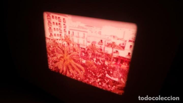 Cine: NO–DO, DOCUMENTALES VISITAS REALES CÁDIZ,HUELVA Y SEVILLA COLOR SONORO 16 MM - Foto 64 - 118893815