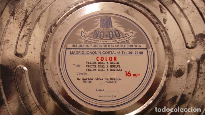 Cine: NO–DO, DOCUMENTALES VISITAS REALES CÁDIZ,HUELVA Y SEVILLA COLOR SONORO 16 MM - Foto 75 - 118893815