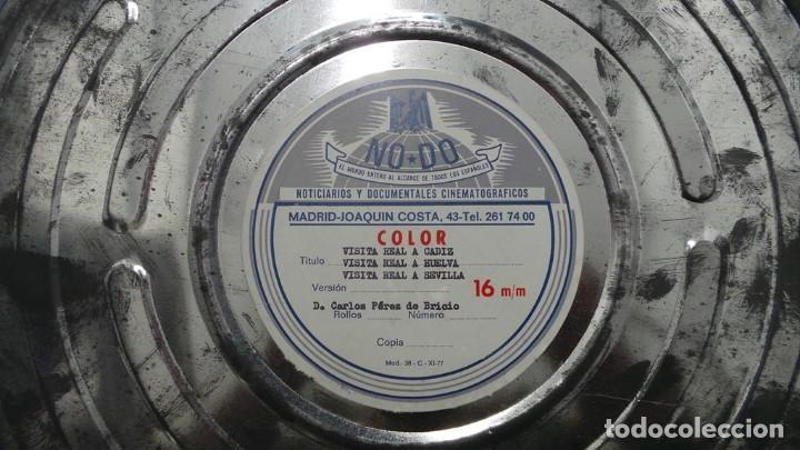Cine: NO–DO, DOCUMENTALES VISITAS REALES CÁDIZ,HUELVA Y SEVILLA COLOR SONORO 16 MM - Foto 79 - 118893815