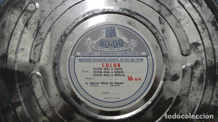 Cine: NO–DO, DOCUMENTALES VISITAS REALES CÁDIZ,HUELVA Y SEVILLA COLOR SONORO 16 MM - Foto 80 - 118893815