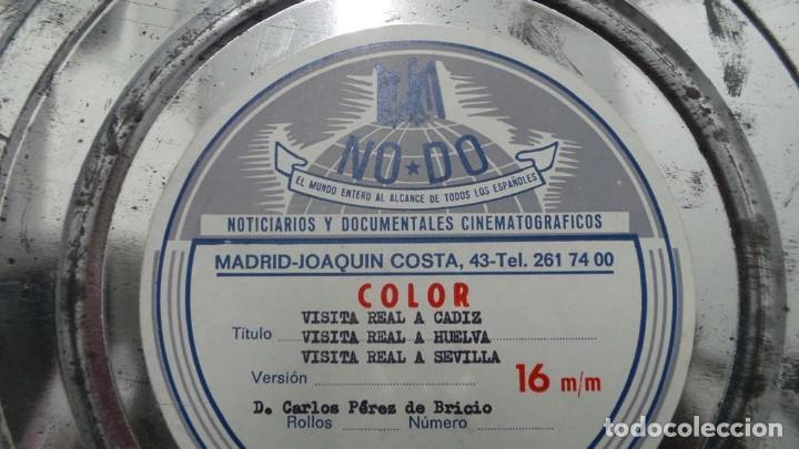 Cine: NO–DO, DOCUMENTALES VISITAS REALES CÁDIZ,HUELVA Y SEVILLA COLOR SONORO 16 MM - Foto 82 - 118893815
