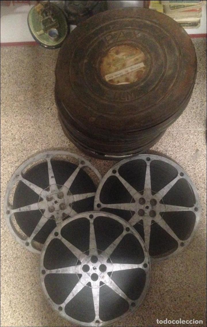 ANTIGUA PELICULA CINE 2 BOBINAS 16MM 16 MM ONCE PARES DE BOTAS 1954 (Cine - Películas - 16 mm)