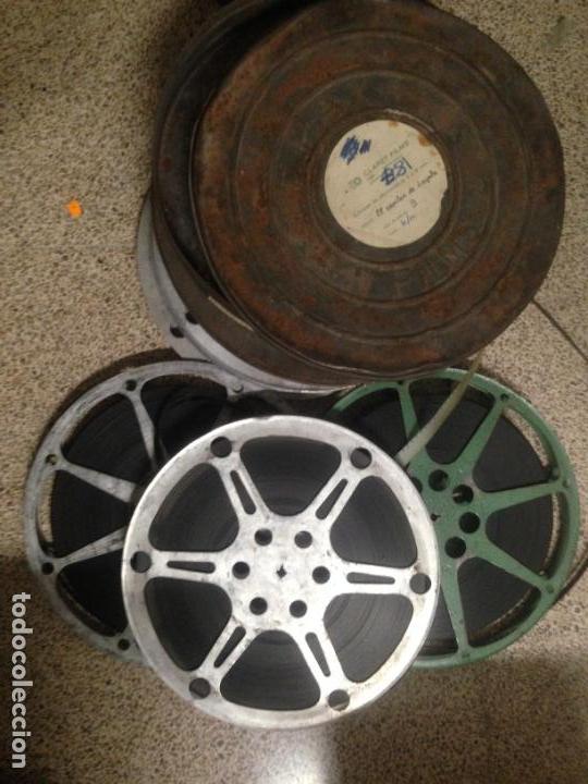 ANTIGUA PELICULA CINE 3 BOBINAS 16MM 16 MM EL CAPITAN DE LOYOLA 1949 (Cine - Películas - 16 mm)