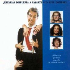 Cine: TRES CAMAS PARA UN SOLTERO (1989 / LARGOMETRAJE EASTMAN LPP). Lote 140412378