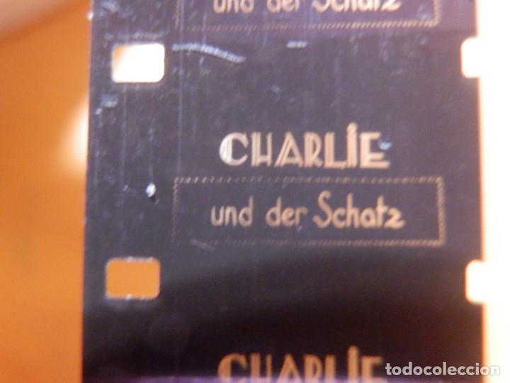 Cine: Pelicula de cine 16 mm. en Caja de 18,5 cm Muda Charlie Chaplin - Film Office - Foto 3 - 142368026