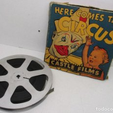 Cine: PELÍCULA 16 MM HERE COMES THE CIRCUS, CASTLE FILMS. Lote 142874342