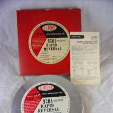 Cine: ROLLO VIRGEN DUPONT 16MM - WILMINGTON USA - PELICULA CINE B/N. Lote 144281970