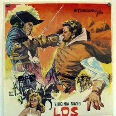 Cine: 16MM ++ LOS MERCENARIOS ++ LARGOMETRAJE EN B/N 2 BOBINAS. CASTELLANO. Lote 151715010