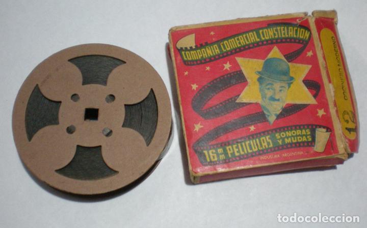 PELICULA 16 MM, CHARLES - CARLITOS CHAPLIN, COCINERO MODERNO, N 12, COMPAÑIA COMERCIAL CONSTELACIÓN (Cine - Películas - 16 mm)