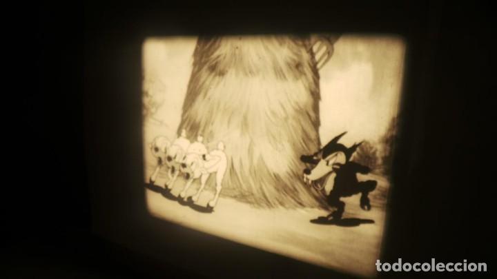 Cine: BIG BAD WOLF , FUN CARTOON PELÍCULA 16MM-OLD MOVIE- RETRO VINTAGE FILM - Foto 4 - 160548018