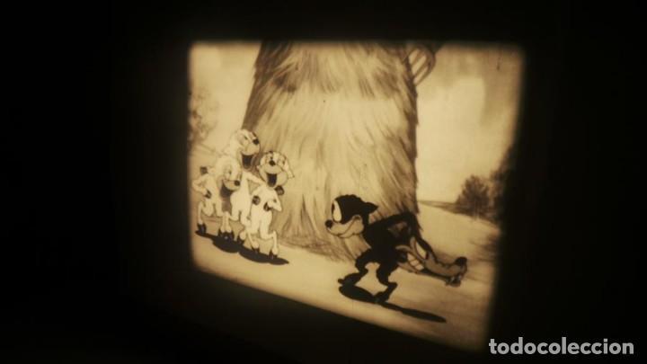 Cine: BIG BAD WOLF , FUN CARTOON PELÍCULA 16MM-OLD MOVIE- RETRO VINTAGE FILM - Foto 5 - 160548018