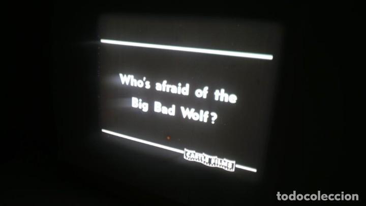 Cine: BIG BAD WOLF , FUN CARTOON PELÍCULA 16MM-OLD MOVIE- RETRO VINTAGE FILM - Foto 25 - 160548018