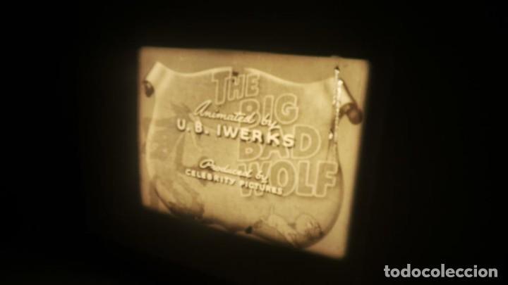 Cine: BIG BAD WOLF , FUN CARTOON PELÍCULA 16MM-OLD MOVIE- RETRO VINTAGE FILM - Foto 27 - 160548018