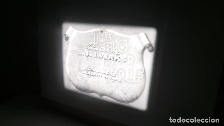 Cine: BIG BAD WOLF , FUN CARTOON PELÍCULA 16MM-OLD MOVIE- RETRO VINTAGE FILM - Foto 33 - 160548018