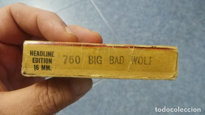Cine: BIG BAD WOLF , FUN CARTOON PELÍCULA 16MM-OLD MOVIE- RETRO VINTAGE FILM - Foto 50 - 160548018
