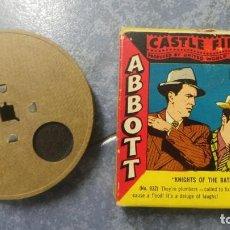 Cine: ABBOTT & COSTELLO KNIGHTS OF THE BATH - PELÍCULA 16MM - OLD MOVIE- RETRO VINTAGE FILM. Lote 160548142