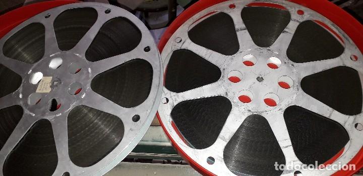 PELÍCULA EN 16 MM TITULADA AGENTE FEDERAL EN ROMA 2X600 M. (Cine - Películas - 16 mm)