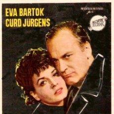 Cine: SIN TI TODO ES TINIEBLA (LARGOMETRAJE / 1956). Lote 172084263