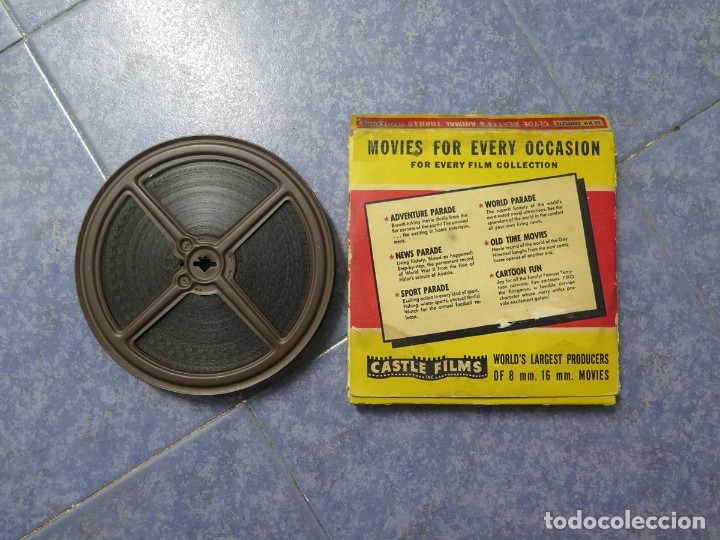 Cine: CLYDE BEATTYS-ANIMAL THRILLS, PELÍCULA 16MM-OLD MOVIE-RETRO - VINTAGE FILM - Foto 116 - 172203104