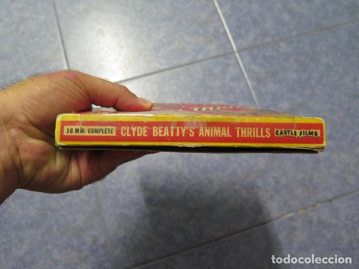 Cine: CLYDE BEATTYS-ANIMAL THRILLS, PELÍCULA 16MM-OLD MOVIE-RETRO - VINTAGE FILM - Foto 119 - 172203104