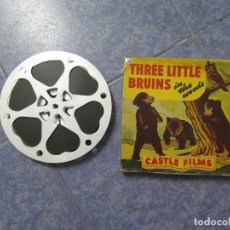 Cine: THREE LITTLE BRUINS (IN THE WOODS) -PELÍCULA 16MM-OLD MOVIE- RETRO -VINTAGE FILM. Lote 172203435