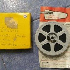 Cine: BACARÉS-PELÍCULA FILMACIONES AMATEUR, 16 MM-RETRO VINTAGE FILM. Lote 176329142
