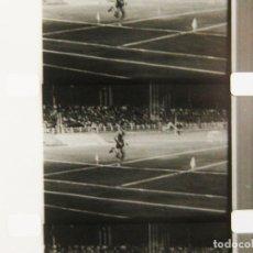 Cine: PELÍCULA DE 16 MILÍMETROS DE UNA COMPETICIÓN DE ATLETISMO EN 1963 - POSIBLE CAMPEONATO DE ESPAÑA. Lote 177094627