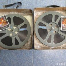 Cine: CRISTAL OSCURO-LARGOMETRAJE PELÍCULA -16 MM- 2 X 600 MTS.- RETRO-VINTAGE FILM. Lote 179016242