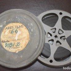 Cine: DIBUJOS ANDY PANDA - DIRIGIENDO UNA ORQUESTA - CASTLE FILMS - COLOR. Lote 181876682