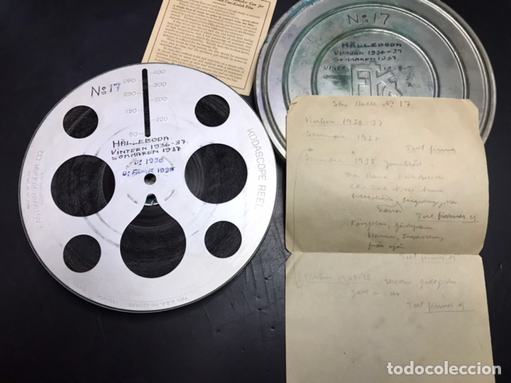 Cine: PELICULA 16 MM INEDITA 1936 1938 COLOR - Foto 2 - 183016268