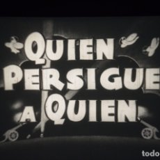 Cine: COMICA - QUIEN PERSIGUE A QUIEN. Lote 183098343