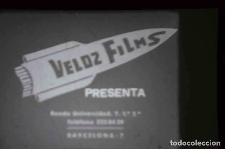 Cine: CORTOMETRAJE COMICO MUDO B/N - EN PELICULA DE DOBLE PERFORACION - Foto 2 - 183445147