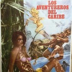 Cine: 16MM LOS AVENTUREROS DEL CARIBE. Lote 186044512