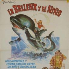 Cine: LA BALLENA Y EL NIÑO. Lote 188565466